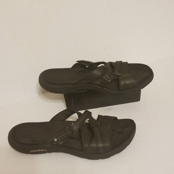 merrell hollyleaf sandals size 7 zip